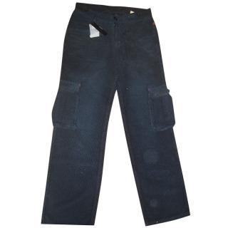 Robeto Cavalli Boy's Combat Velvet Trousers