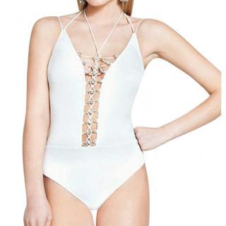 Gottex Cruise Savannah White Swimsuit