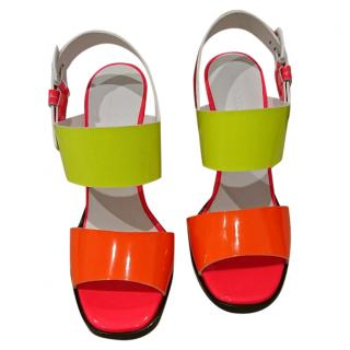 Jil Sander Multicolour Heeled Sandals