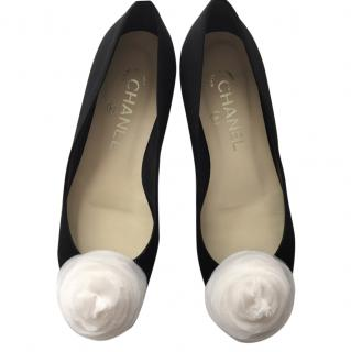 Chanel Camelia Ballet Flats