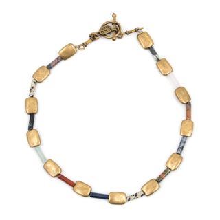 Ubu Paris Multicolored Stone Necklace