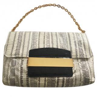 Jimmy Choo snakeskin handbag