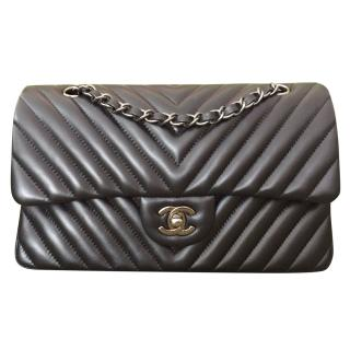 Chanel Chevron Classic Flap Bag
