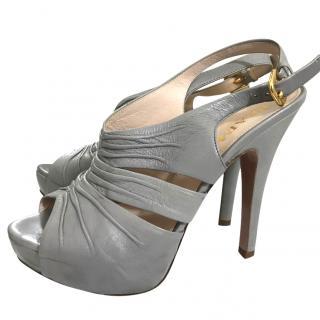 Prada Peep Toe Heels