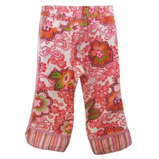 Oilily 'The future is shiny' trousers