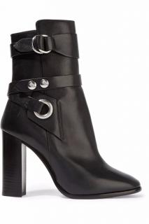 Isabel Marant Aspeyn leather 70's ankle boots UK 4