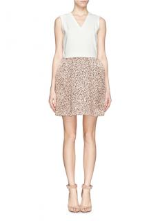 Maje Jacquard Leopard Dress