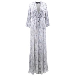 Theyskens' Theory Striped Maxi Dress