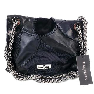 Balmain Ultimate Croco Handbag