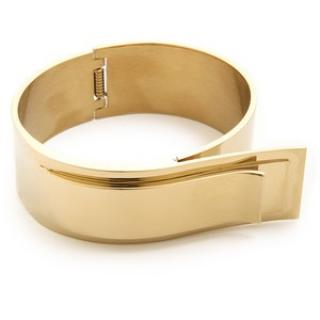 By Malene Birger Harpa Gold Bracelet