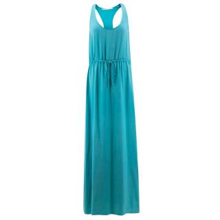 Twelfth Street By Cynthia Vincent Turquoise Maxi Dress