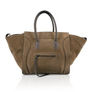 Celine Suede Phantom Medium Bag