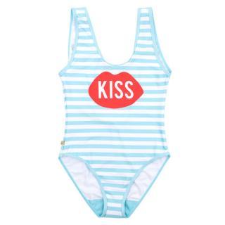 PLNY LALA Stripe Kiss Swimsuit