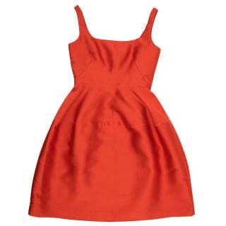 CH Red Ladylike Dress