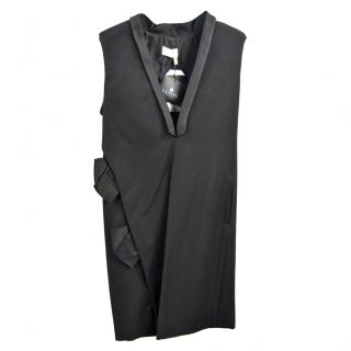 Lanvin Black Robe Jour Dress
