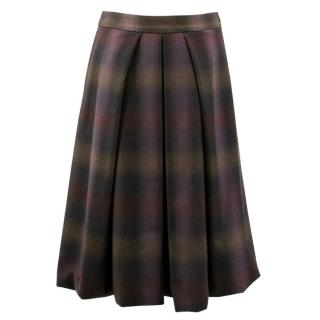 Sportmax Check Skirt