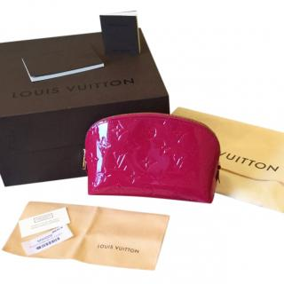Louis Vuitton Red Poch Cosmetic Case