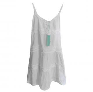 Melissa Odabash Girls Baby Emilia Summer White Dress