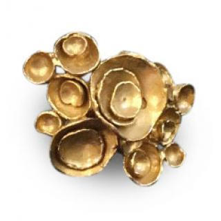 Yves Saint Laurent Gold  Metal  Ring