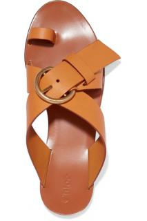 Chloe Nils Textured Sandals