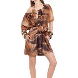 Gottex Sahara Collection 100% Silk Dress