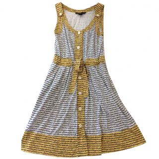 Marc by Marc Jacobs Printed Belted Dress