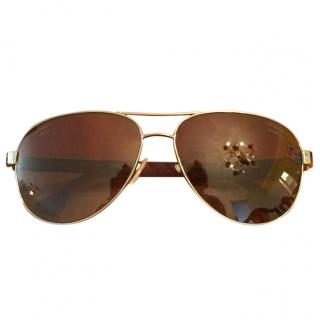 Chanel aviator-style sunglasses