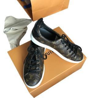 Louis Vuitton Frontrow Monogram Sneakers size 8 UK
