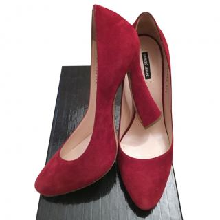Giorgio Armani Red Heels
