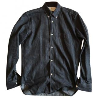 Our Legacy 1950's Black Denim Shirt