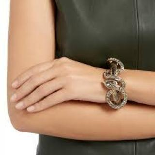 ROBERTO CAVALLI Serpent Cuff Bracelet