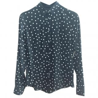 Paul Smith Black Polka Dot Ladies Shirt
