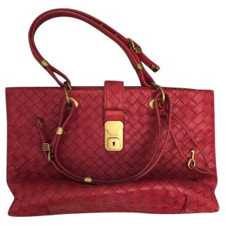 Bottega Veneta Red Tote