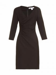 DVF Eliana Ruched Sheath Dress