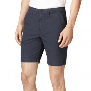 Burberry Men's Blue Cotton Poplin Chino Shorts