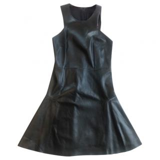 Mulberry Black Leather Dress