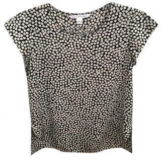Diane von Furstenburg silk blouse