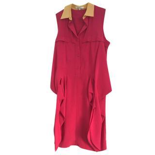 Carven fuchsia pink summer dress
