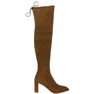 Stuart Weitzman Camel Boots