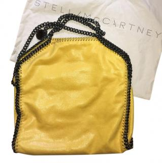 Stella McCartney Yellow Falabella Shaggy Deer Forever Tote