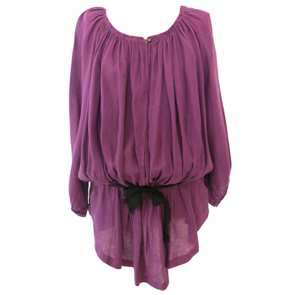 Isabel Marant Etoile oversized linen tunic