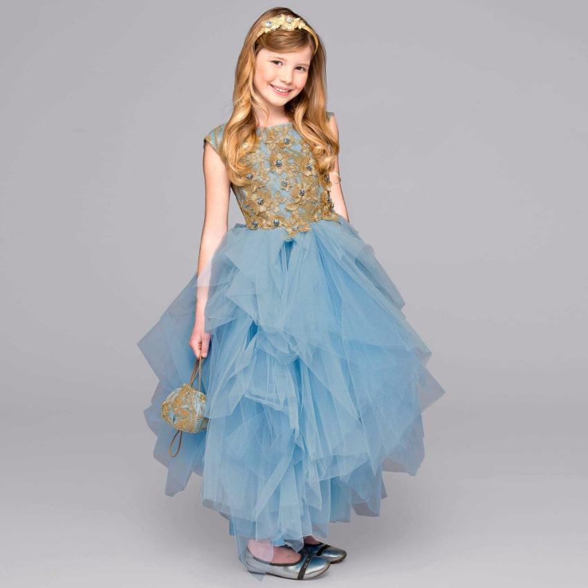 5fc481a7a Lesy Luxury Flower Girls Dress