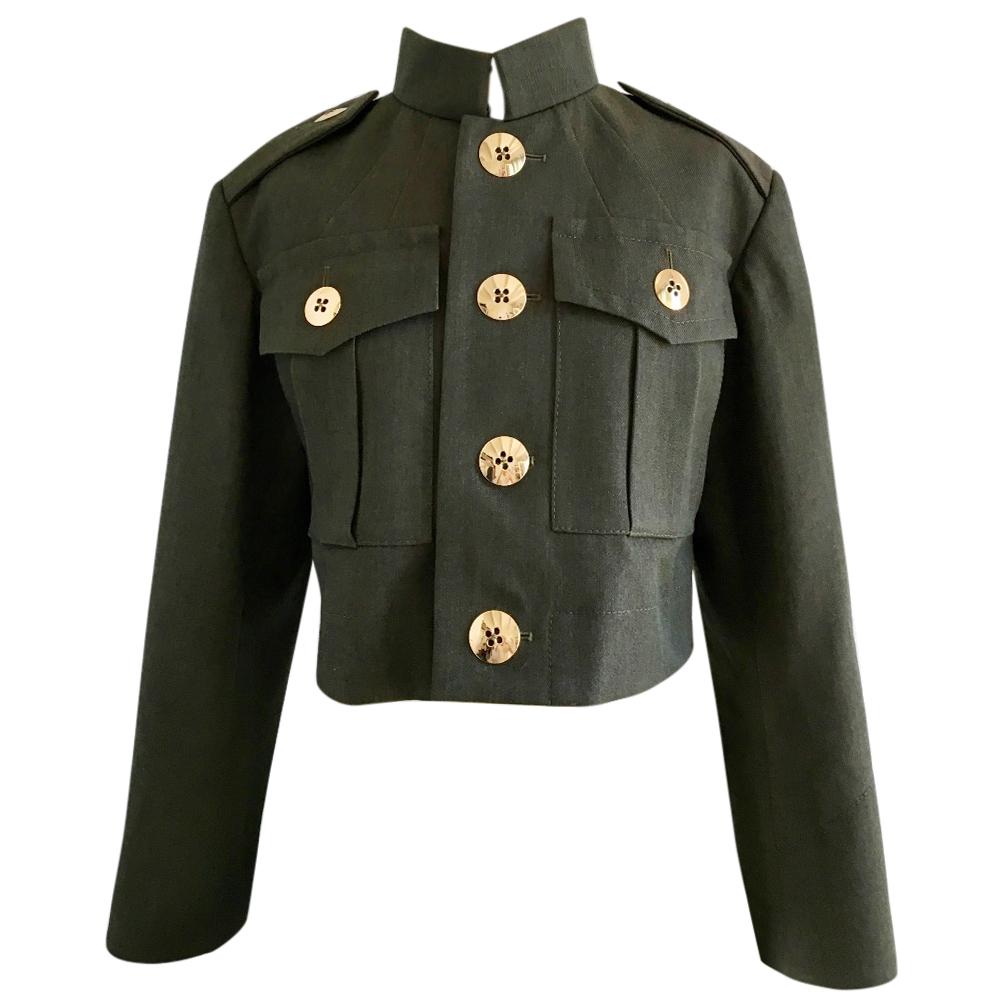 Marc Jacobs Green Wool Jacket