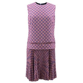 Victoria Beckham Pattern Shift Dress