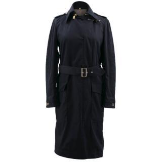Fay Black Long Coat