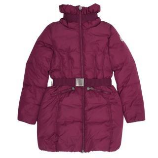 Moncler Purple Padded Coat