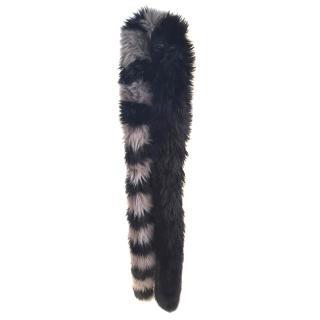 Charlotte Simone popsicle faux fur scarf