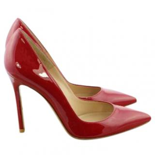 Gianvito Rossi Red Patent Leather