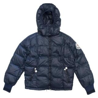 Moncler Kid's Navy Down Jacket
