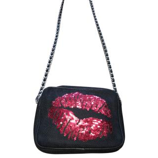 Sarah's Bag Lips sequin Bag